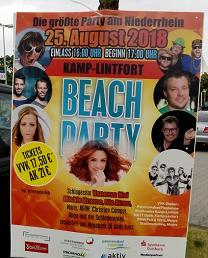 Beach Party Kamp-Lintfort